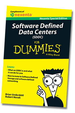 SDDC For Dummies book cover